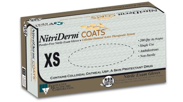 125 – NitriDerm® COATS™ Nitrile Exam Gloves - IHC Solutions