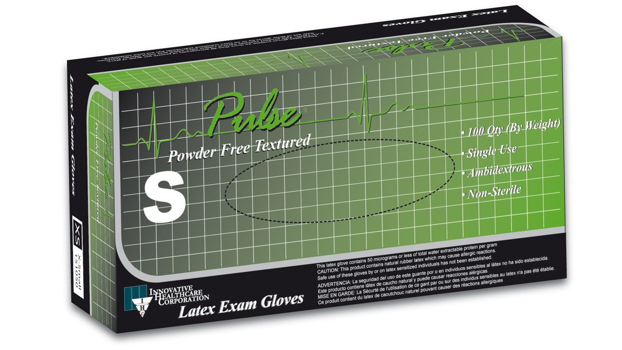151 – Pulse® Latex Exam Gloves - Innovative Healthcare Solutions