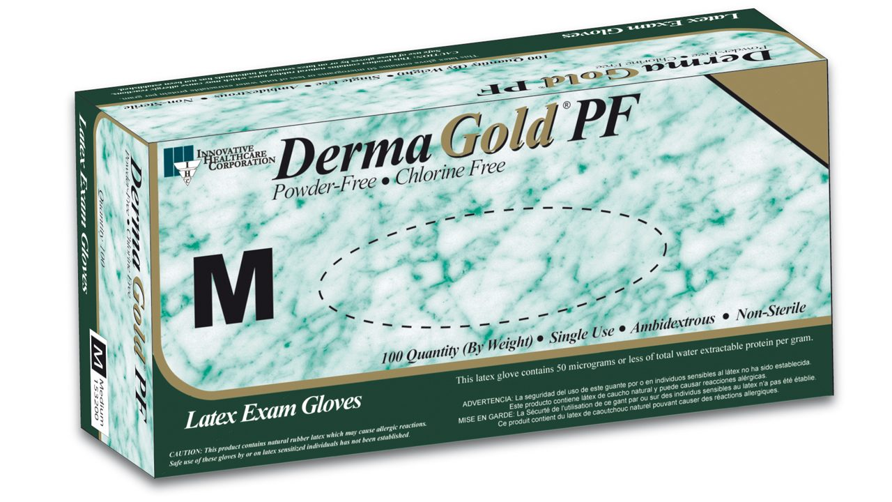 153 – DermaGold® Latex Exam Gloves - Innovative Healthcare Solutions