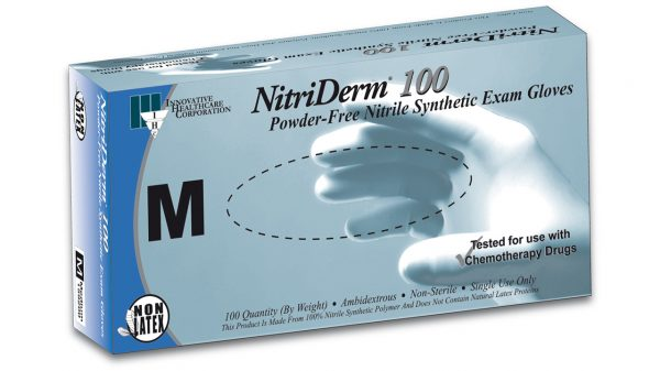159 – NitriDerm® 100 Nitrile Exam Gloves - Innovative Healthcare Solutions