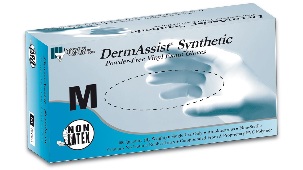 161 – DermAssist® Vinyl Exam Gloves - Innovative Healthcare Solutions