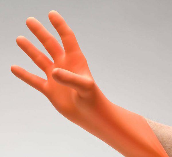 189 - NitriDerm® EP Orange® Nitrile Exam Gloves - www.ihcsolutions.com