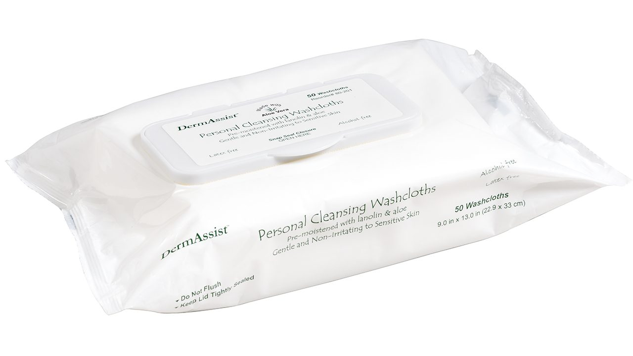 80-201 – DermAssist® Adult Wipes - Innovative Healthcare Solutions