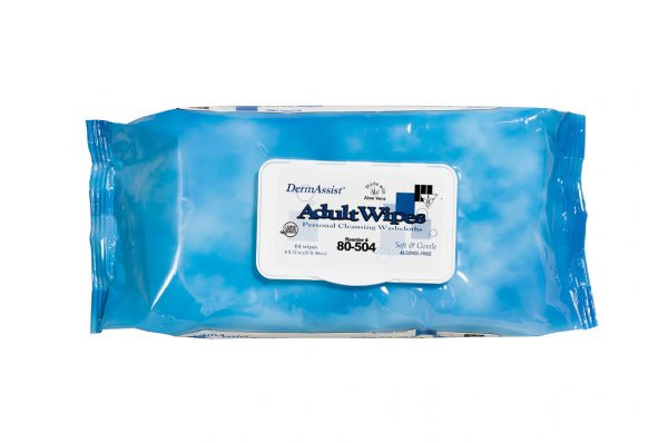 80-504 - DermAssist® Disposable Wipes - www.ihcsolutions.com
