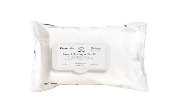 80-201 - DermAssist® Disposable Wipes - www.ihcsolutions.com