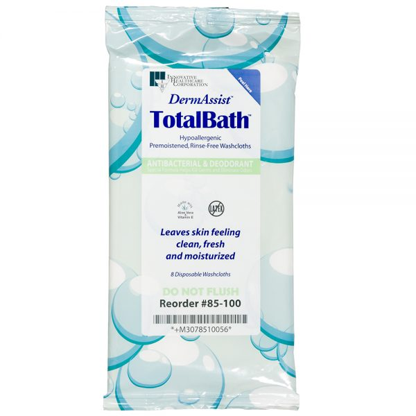 85-100 – TotalBath® Bath Cloth - Innovative Healthcare Solutions