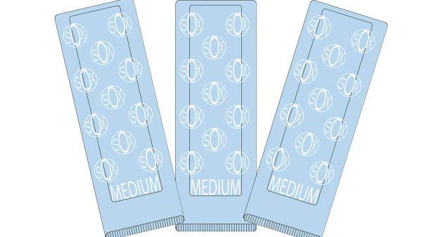 72-200 - DermAssist® Sox™ Slip-Resistant Patient Socks - Blue