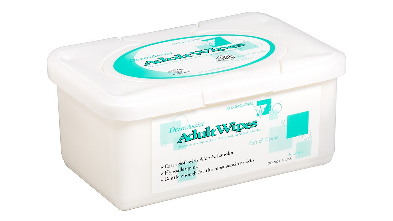 80-300 – DermAssist® Adult Wipes - Innovative Healthcare Solutions