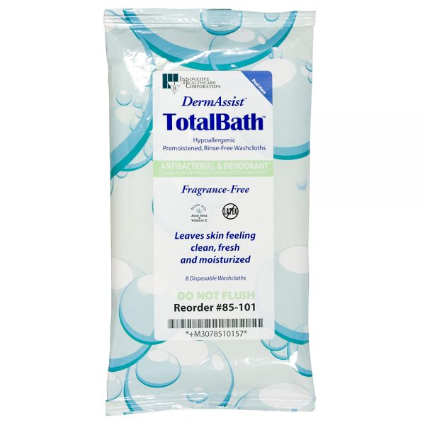 85-101 – TotalBath® Bath Cloth - Innovative Healthcare Solutions