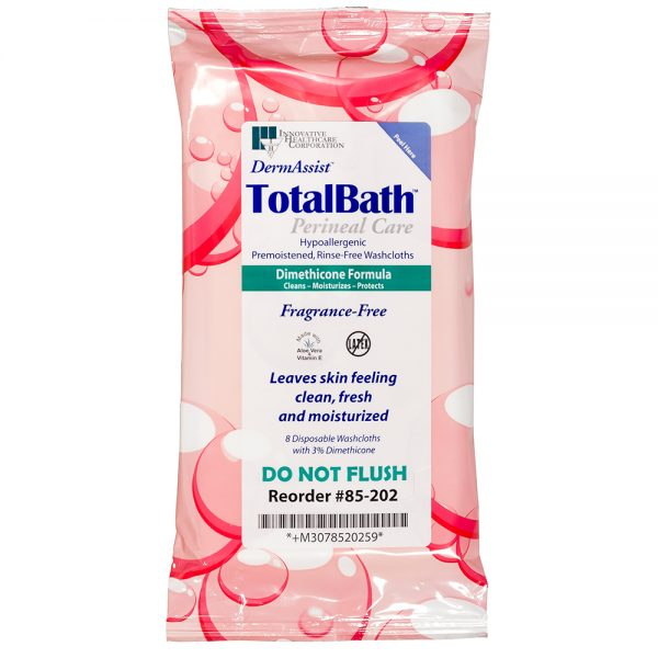 85-202 – TotalBath® Incontinence Wipes and Perineal Care - Innovative Healthcare Solutions